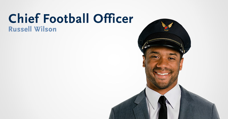 Our Chief Football Officer Alaska Airlines
